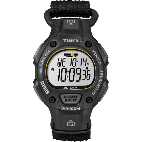 Timex Ironman 30-Lap Full-Size - Black - Outdoor