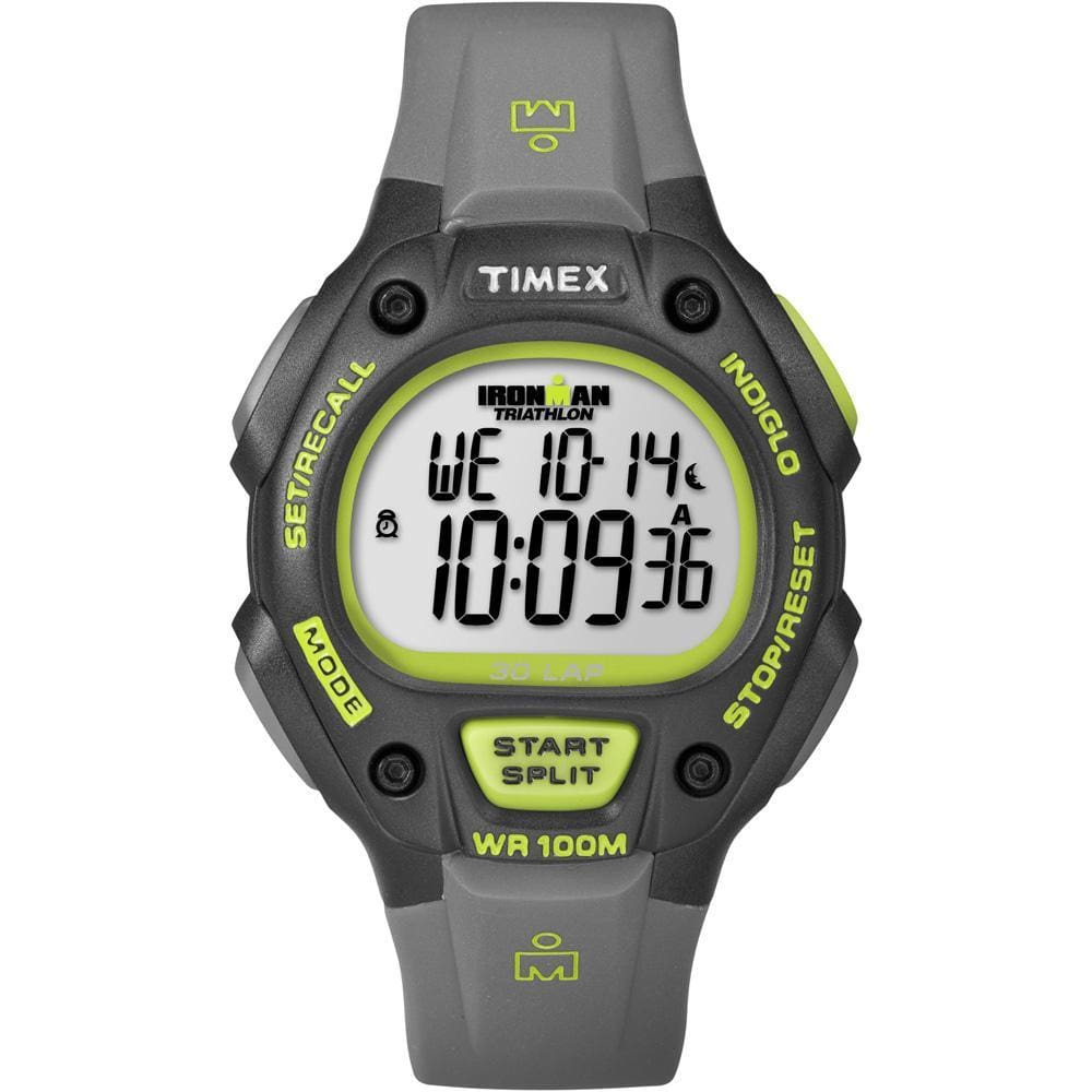 Timex Ironman 30-Lap Full-Size - Grey-Black - Outdoor