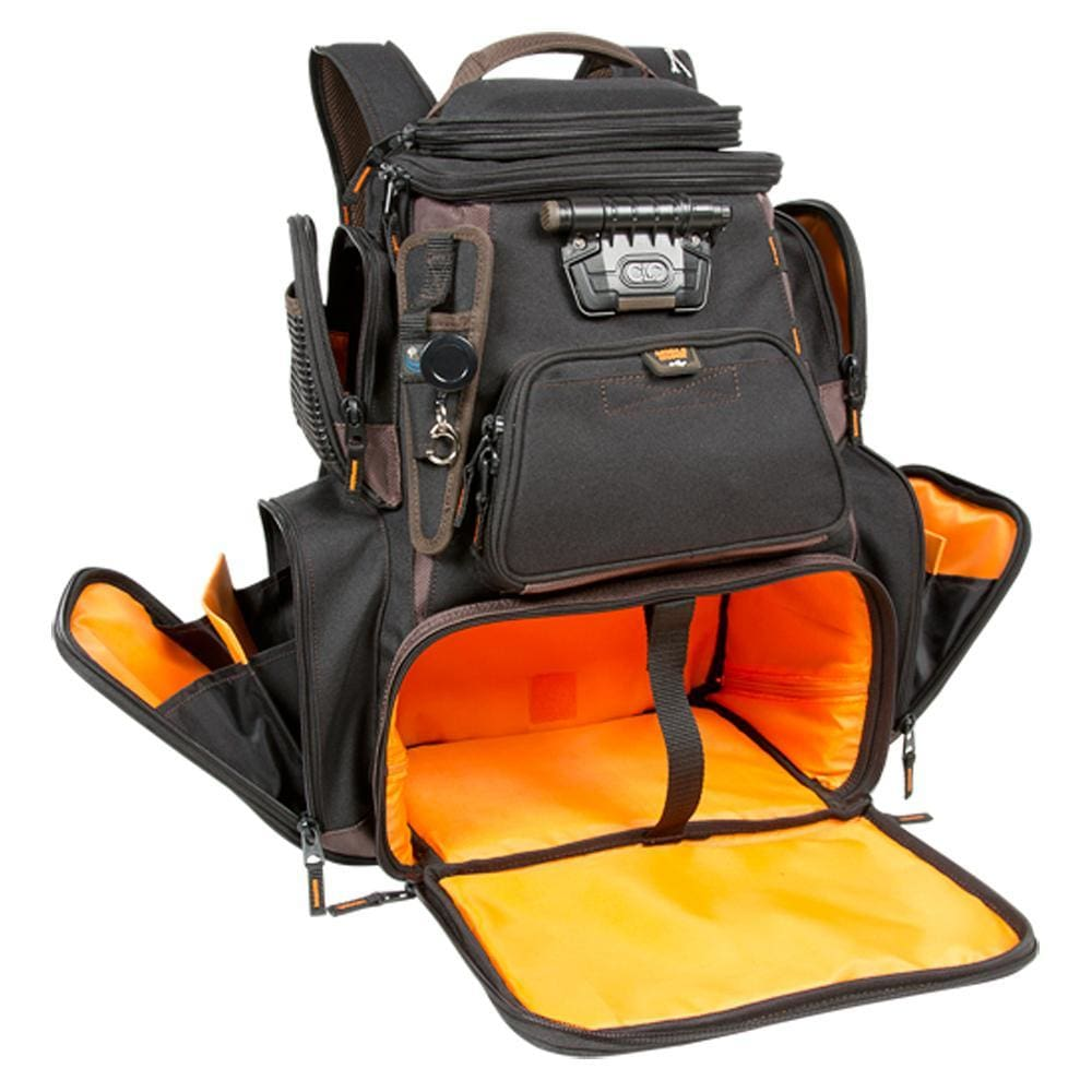 Wild River Tackle Tek Nomad XP - Lighted Backpack w-USB Charging System w-o Trays - Outdoor