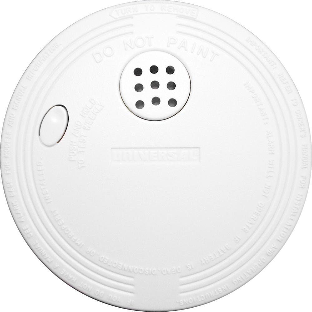 Xintex SS-775 Smoke Detector & Fire Alarm - 9V Battery Powered - Automotive/RV