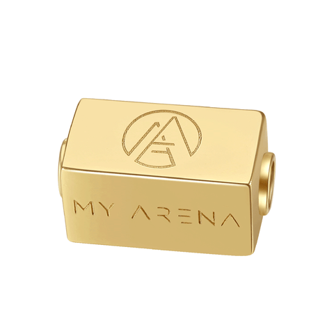 14K Gold Plated 925 Sterling Silver My Arena Seal