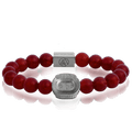 Camp Nou 3taDium Classic 10 Red Crackle Agate