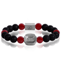 Camp Nou 3taDium Defender 10 Red Crackle Agate
