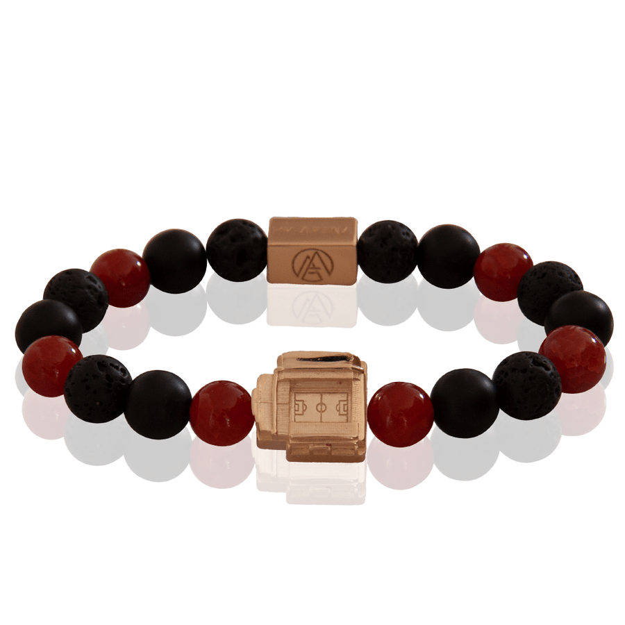 Anfield 3taDium Defender 10 Red Crackle Agate