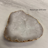 White Druzy Phone Grip 3