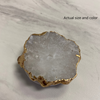 White Druzy Phone Grip 12