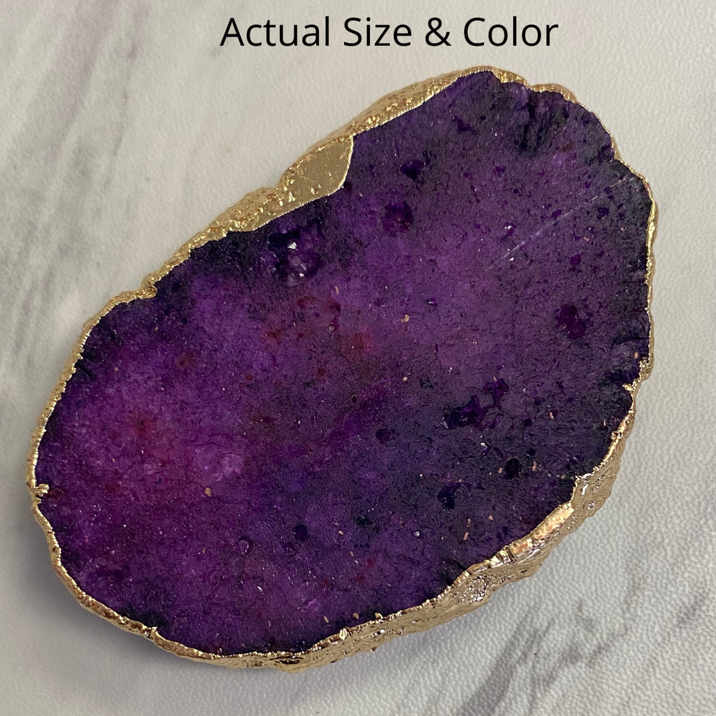 Purple Druzy Phone Grip 5