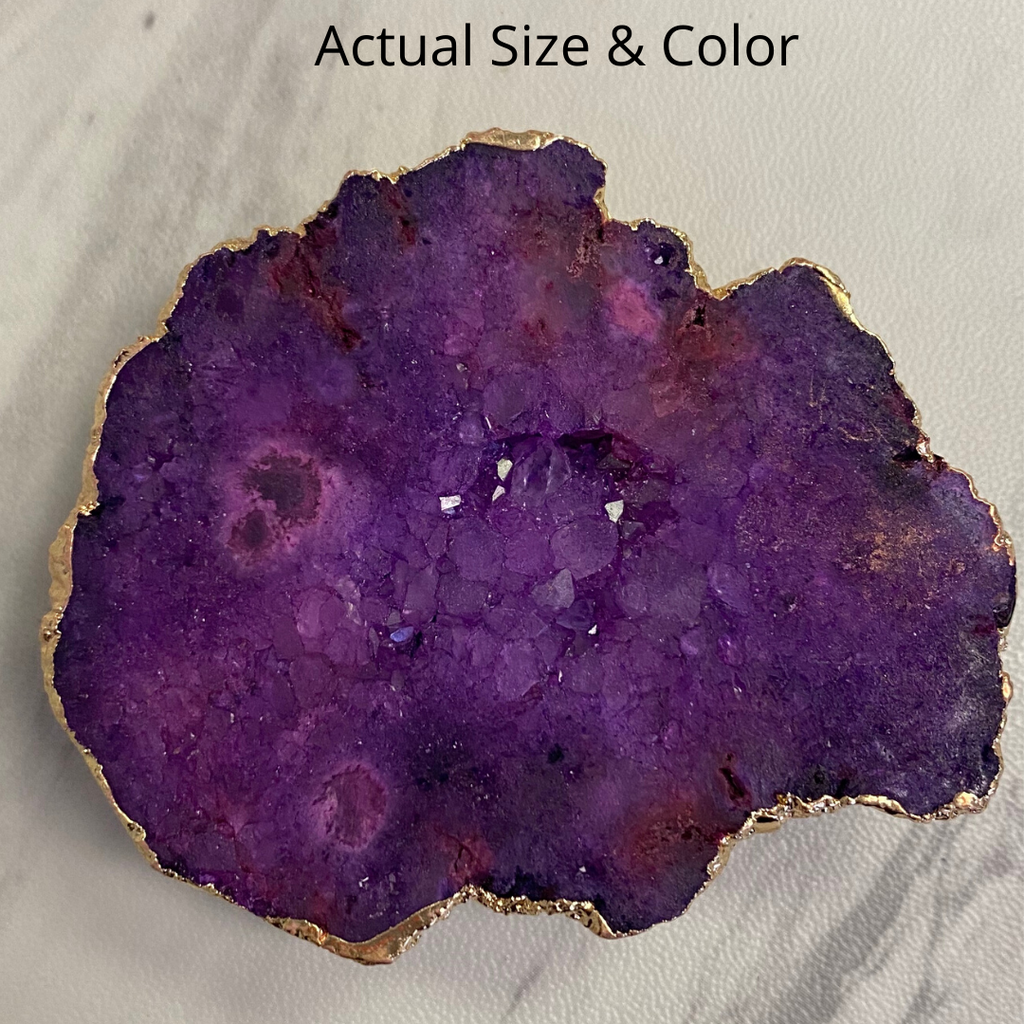 Purple Druzy Phone Grip 7