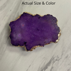 Purple Druzy Phone Grip 10