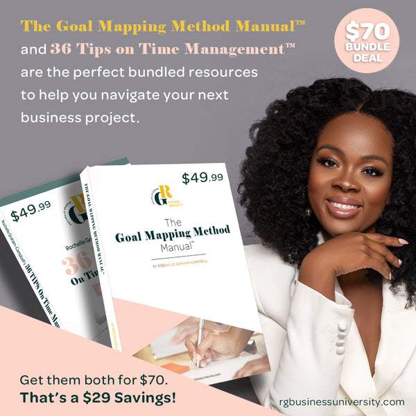 BUNDLE: The Goal Mapping Method + 36 Tips on Time Management
