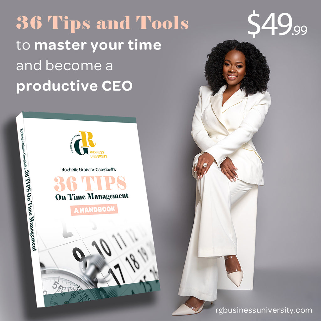36 Tips and Tools to master your time and become a productive CEO