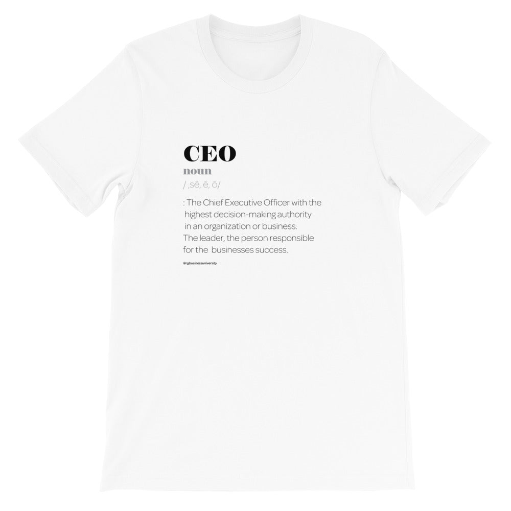 CEO Defined T-Shirt