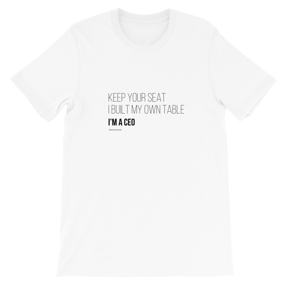 Keep Your Seat T-Shirt