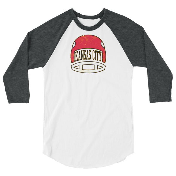 KC Football 3/4 Sleeved Raglan