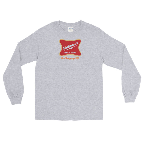 Champagne of QBs Long Sleeve Shirt