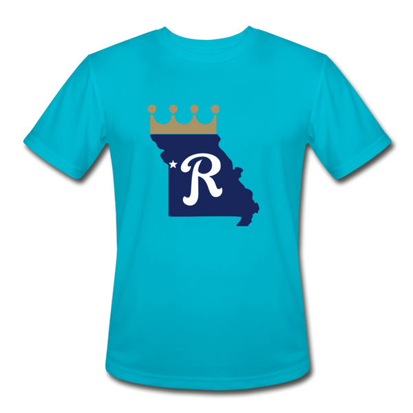 Crown State Dri-Fit T-Shirt - turquoise
