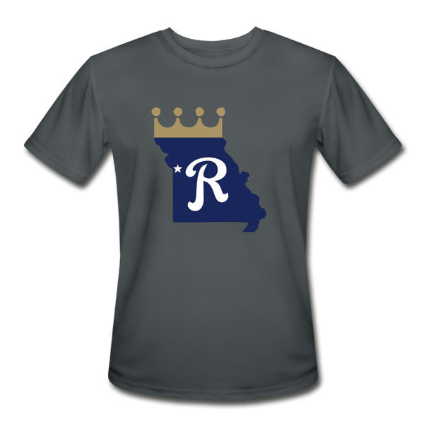 Crown State Dri-Fit T-Shirt - charcoal
