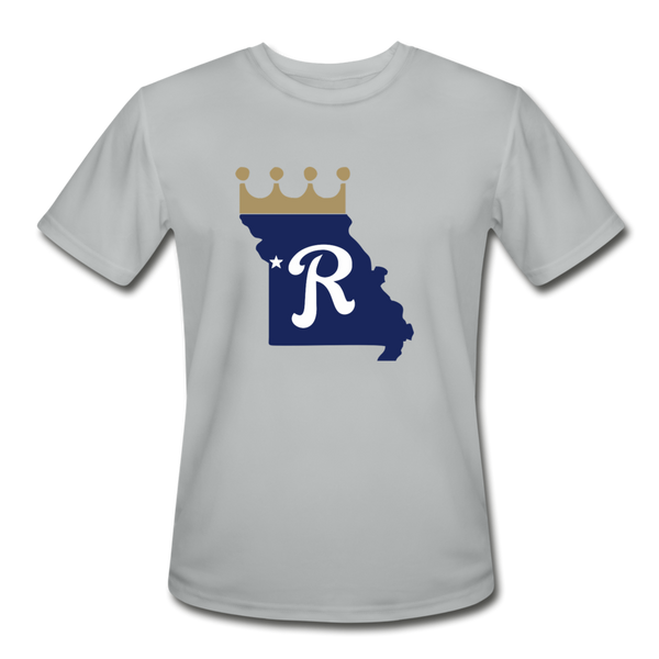 Crown State Dri-Fit T-Shirt - silver