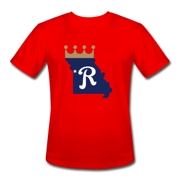 Crown State Dri-Fit T-Shirt - red