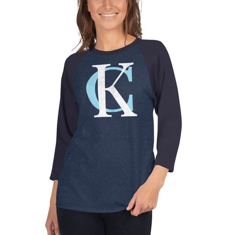 King KC 3/4 Sleeved Raglan T-Shirt