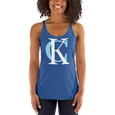 King KC Women's Racerback Tank