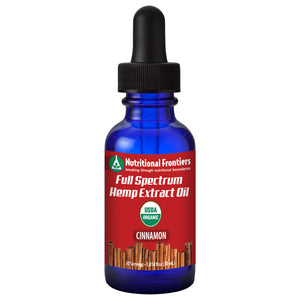 Full Spectrum Hemp Extract (Cinnamon)