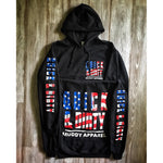 muddy-apparel-shop.myshopify.com QUICK & DIRTY - THE AMERICA - BLACK W/ US FLAG PREMIUM HOODIE