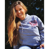 muddy-apparel-shop.myshopify.com QUICK & DIRTY - HEATHER GREY W/ MAROON PREMIUM HOODIE