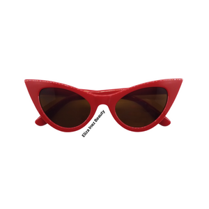 Red Sunglasses cat eye sunglasses