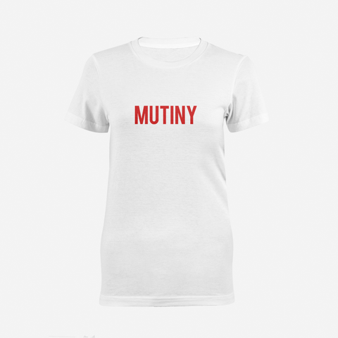 Red Statement Logo - T-Shirt - Mutiny GymWear
