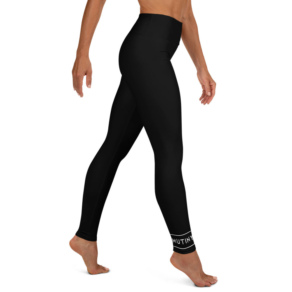 Intense Leggings Black - Mutiny GymWear