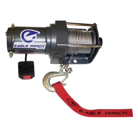 Eagle Winch 4,500 lb. Steel Cable Winch