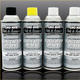Sno-Way High Performance Touch-Up Spray Paint (Black or Silver)