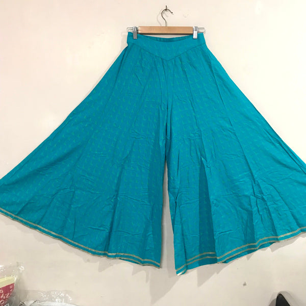 Palazzo Pants wide leg bottoms. Flared like Skirt pants. Party Wear Pants Indian clothing Palazzo