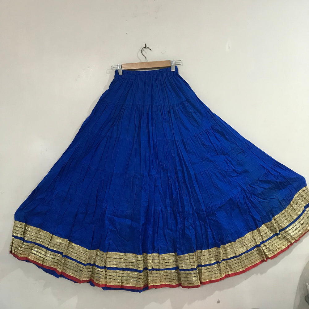 Cotton Skirt.  Long Bollywood Clothing