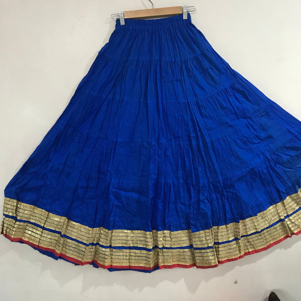 Cotton Skirt.  Long Bollywood Clothing, Long circle Indian Skirt belly dance or dinner party wear Elegant skirt for gifting