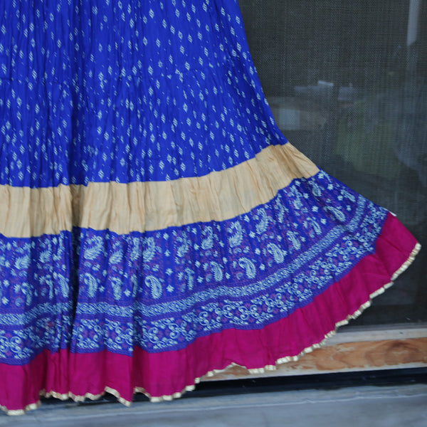 Circle Long Skirt. Indian Bollywood Dance Gypsy costume. Belly dance skirts.