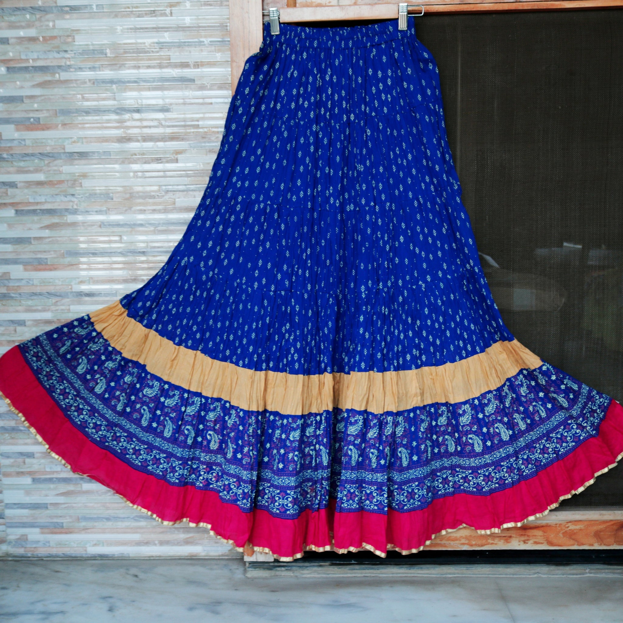 Circle Long Skirt. Indian Bollywood Dance Gypsy costume