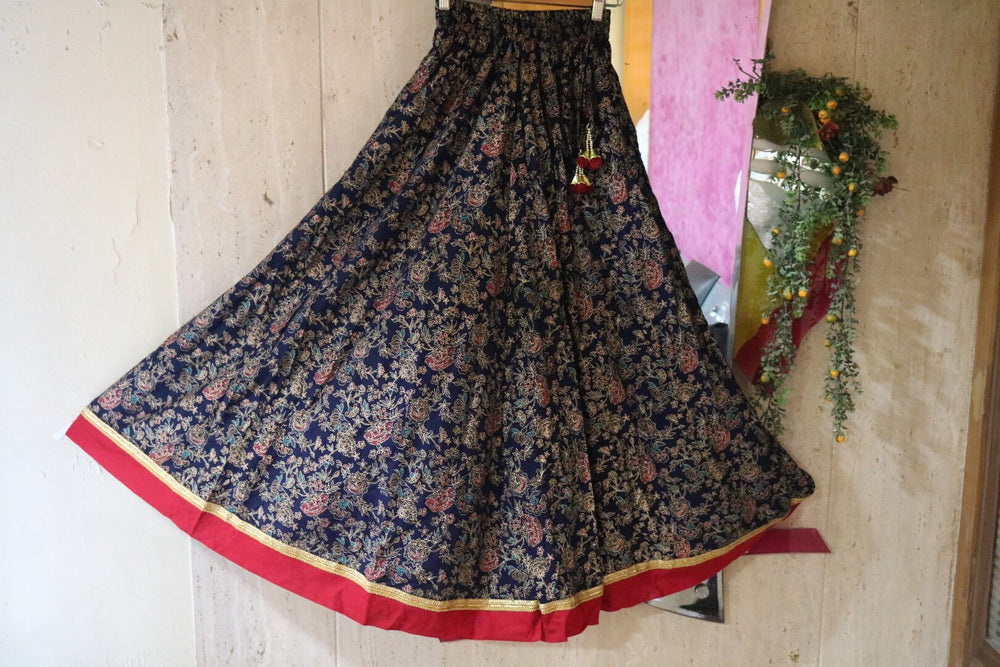 Printed Indian lehenga skirt | Long skirt | Maxi boho skirt for women | Party wear skirts bottoms