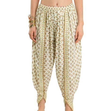 Dhoti Pants for Women | Trousers, Elasticated Pants,  Tulip Boho Trousers, Hippie Bohemian Trousers Harem Pants, Dhoti