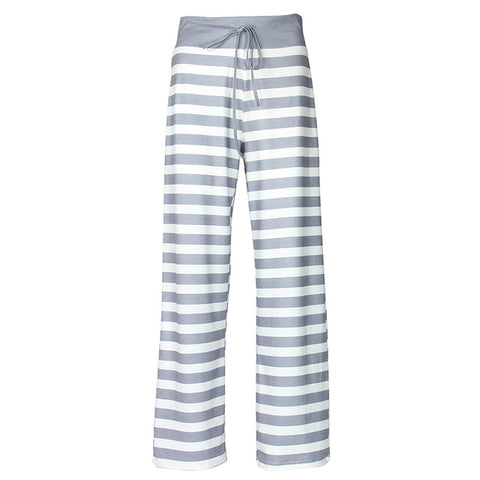 Striped Loose Women Pants