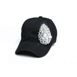"""NO CAP"" Sparkle Hat"