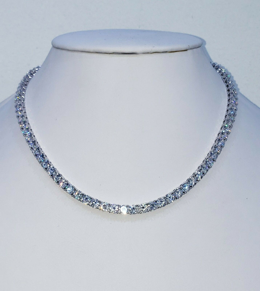 Diamond Tennis Necklace 5mm