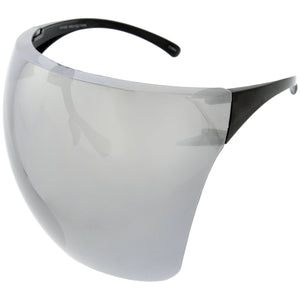 Futuristic Mirror Mask/Visor Face Shield Sunglasses