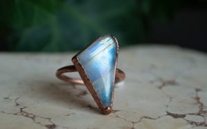 Rainbow Moonstone /  Size 6
