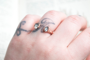 Double Herkimer Ring