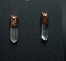 Load image into Gallery viewer, Quartz Point Earrings