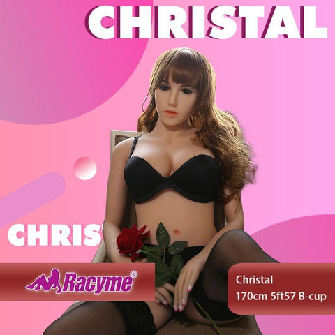 170cm 5ft57 B-cup Sex Doll Christal