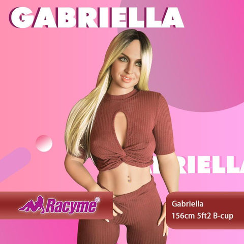 156cm 5ft2 B-cup Sex Doll Gabriella