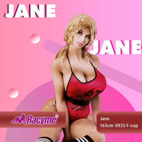 163cm 5ft35 F-cup Sex Doll Jane